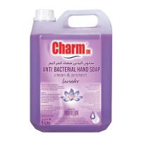Picture of Charmm Antibacterial Hand Wash, Lavender, 5L, Carton of 4 Pcs
