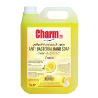 Picture of Charmm Antibacterial Hand Wash, Lemon, 5L, Carton of 4 Pcs