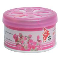Picture of Enzo Cool Car Gel Air Freshener Tin, Pink Petals, 70g