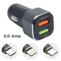 Picture of Touchmate Fast Car Charger with 3-In-1 Charging Cable