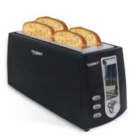 Picture of Touchmate 4 Slice Retro Toaster, 1200W, Black