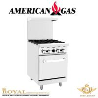 Picture of American Gas 4 Burner Gas Cooker, Ato-4B