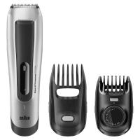 Picture of Braun Beard Trimmer with Accessories, BT5090, Grey & Black