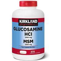 Picture of Kirkland Signature Glucosamine HCI 1400 mg & MSM 1500 mg Food Supplement