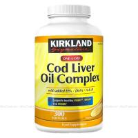 Picture of Kirkland Signature Cod Liver Oil Complex
