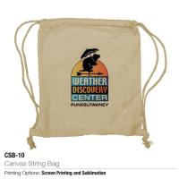 Picture of MTC Canvas String Bag, 34 x 42cm
