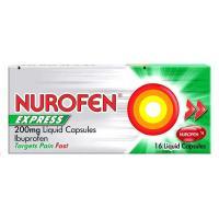Picture of Nurofen Express Liquid Capsules - 200Mg