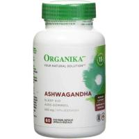 Picture of Organika 500Mg Ashwagandha Sleep Aid Capsules - 60 Capsules