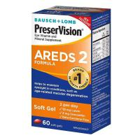 Picture of Bausch & Lomb Preservision Eye Areds2 Soft Gels - 60 Capsules