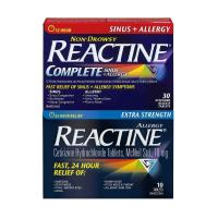 Picture of Reactine Complete for Sinus + Allergy Tablets - Pack of 30