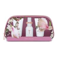 Picture of Ted Baker Floral Bliss Body Spray, Wash, Lotion Beauty Bag Gift Set - Pink