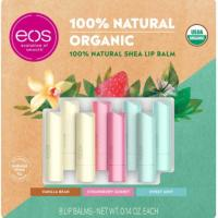 Picture of Eos Organic 100% Natural Shea Lip Balm, Pack of 8