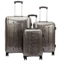 Picture of Samsonite Carbon Hard Side Luggage Set - Silver & Black, 3