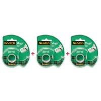 Picture of Scotch Magic Invisible Correction Tape Roll - Pack of 3