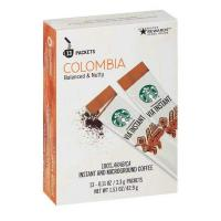 Picture of Starbucks Via Instant Colombia Balanced and Nutty Coffee - 13 Packets