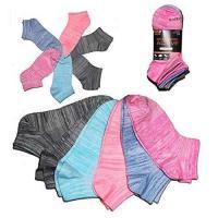 Picture of Skecher Women's Active Super Soft Low Cut Socks, Multicolour, 6 pairs
