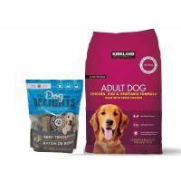 Picture of Dog Food Bundle Pack for Adult Dog with Beef Tender Sticks, 12kg+500g