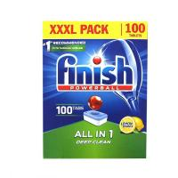 Picture of Finish All in 1 Automatic Dishwasher Detergent Powerball - 100 Tabs