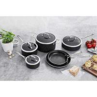 Picture of J A Henckels Capri Notte Granitium Nonstick Cookware Set, Black - Set of 10