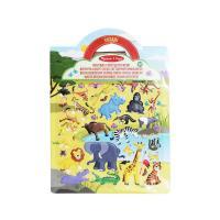 Picture of Safari Melissa And Doug Puffy Sticker Set, Multicolour