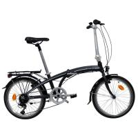 Picture of Orus Unisex'S Folding Bike - Black