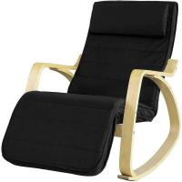Picture of SoBuy Comfortable Rocking Recliner Chair with Footrest Design