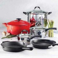 Picture of Tramontina COS1309977 Ultimate Cookware Set, Red, Pack of 10