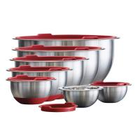 Picture of Tramontina Stainless-Steel Covered Mixing Bowl Set, Pack of 14