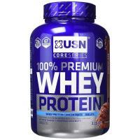 Picture of USN Premium Whey Protein Shake Chocolate Powder, 2.28 kg