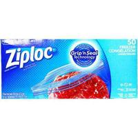 Picture of Ziploc Grip'n Seal Freezer Congelation, Large, Pack of 50