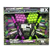 Picture of Hog Wild Atomic Power Popper Dual Battle Pack with 84 Ammo Balls