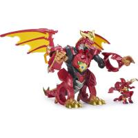 Picture of Bakugan Dragonoid Infinity Transforming Figure and 10 Baku-Gear Accessories