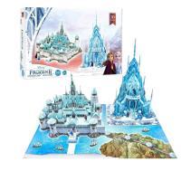 Picture of 4D Cityscape Frozen 2 3D Arendelle & Ice Castle Puzzle Set - 343