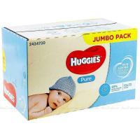 Picture of Huggies Skin Loving Natural Fibers Pure Baby Wipes