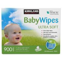Picture of Kirkland Signature Ultra Soft Unscented Baby Wipes - Pack of 900Wipes
