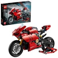 Picture of Lego Technic Ducati Panigale V4 R 42107 Advanced Building Set - Red