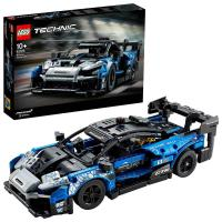 Picture of Lego 42123 McLaren Senna GTR Racing Sports Car Building Set - Blue & Black