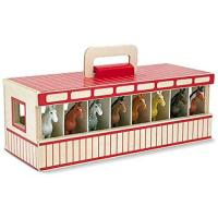Picture of M&D Melissa & Doug Take-Along Show-Horse Stable Play Set