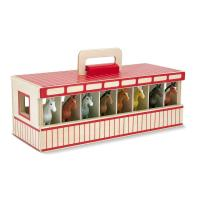 Picture of Melissa And Doug Take-Along Show-Horse Stable