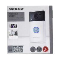 Picture of SilverCrest Smartphone Supported WiFi Video 2 Way Doorbell - White & Black