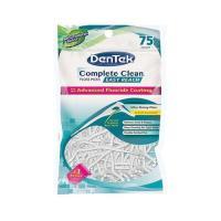 Picture of Dentek Complete Clean Easy Reach Floss Picks, White, 75 pcs