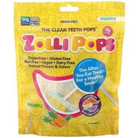 Picture of Zollipop Clean Teeth Pineapple Pops, 87.88 g
