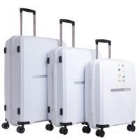 Picture of Para John PP Luggage Trolley, White, Set of 3 Pcs