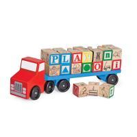 Picture of Melissa & Doug Alphabet Wooden Vehicles Truck