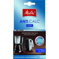 Picture of Melitta Anti Calc Decalcifier Tablets For Filter Coffee Machines & Kettles