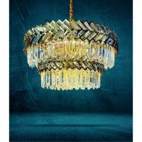 Picture of Target Crystal Chandelier, Gold, 110 x 80 cm