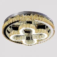 Picture of Target 3-Color LED Crystal Chandelier, Silver & Chrome