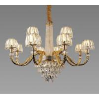 Picture of Target 12-Lamps Crystal Chandelier, Gold