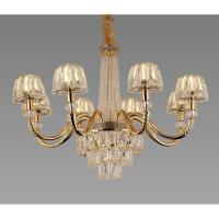 Picture of Target 8-Lamps Crystal Chandelier, Gold