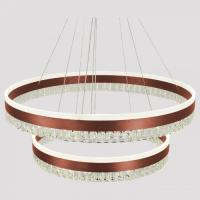 Picture of Target 3-Color Crystal Chandelier, Coffee